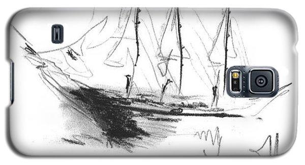 Great Men Sailing Galaxy S5 Case