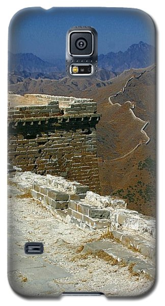 Galaxy S5 Case featuring the photograph Great Wall Of China by Henry Kowalski