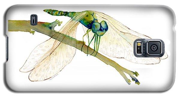 Green Dragonfly Galaxy S5 Case