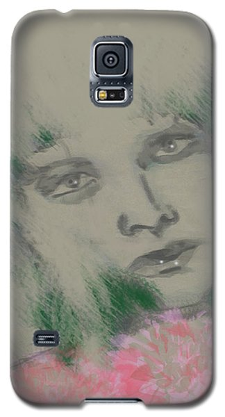 Green Gloria Galaxy S5 Case by Kim Prowse