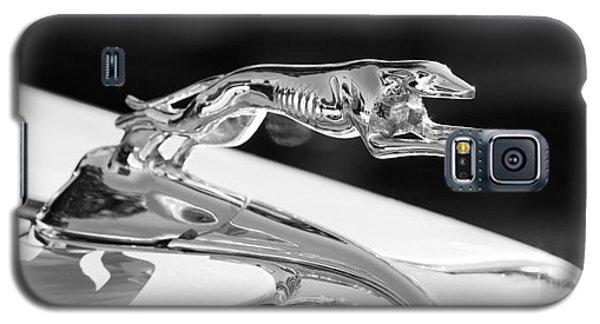 Greyhound Hood Ornament Galaxy S5 Case by Chris Dutton
