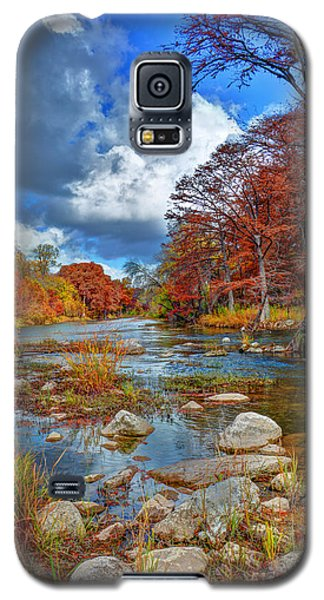 Guadalupe In The Fall Galaxy S5 Case by Savannah Gibbs