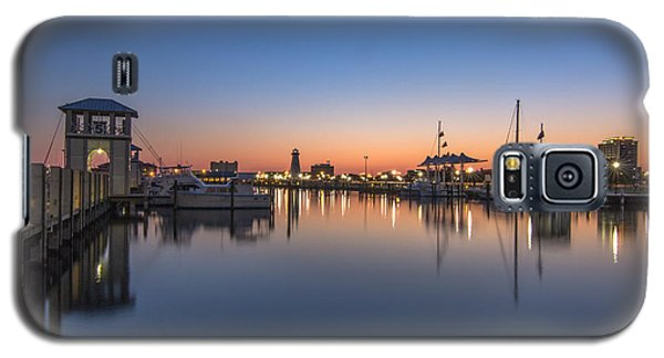 Gulfport Harbor Galaxy S5 Case by Brian Wright