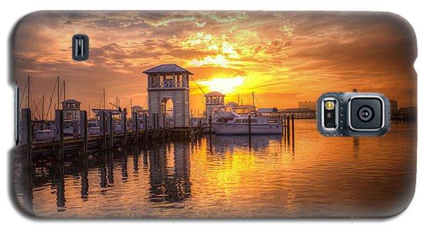 Gulfport Harbor Galaxy S5 Case by Maddalena McDonald