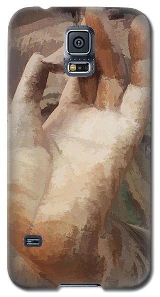 Hand Of Buddha C2014 Galaxy S5 Case by Paul Ashby