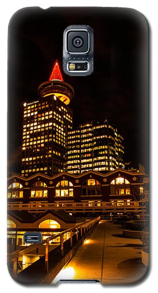 Harbour Centre Christmas Tree Galaxy S5 Case by Haren Images- Kriss Haren
