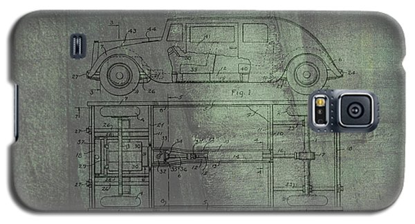 Harleigh Holmes Original Automobile Patent  Galaxy S5 Case