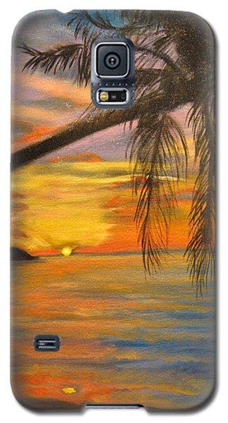 Hawaiian Sunset 11 Galaxy S5 Case