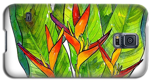 Heliconia Galaxy S5 Case