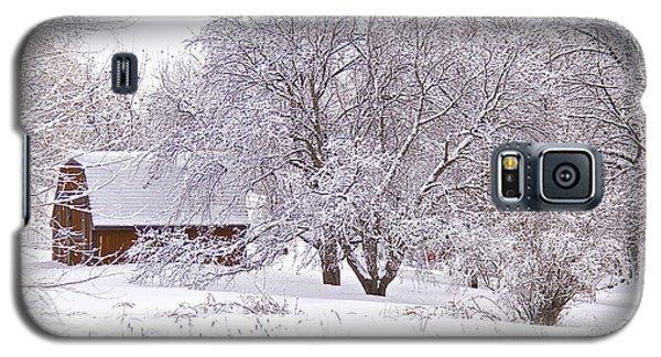 Galaxy S5 Case featuring the photograph Hidden House by Susan Crossman Buscho