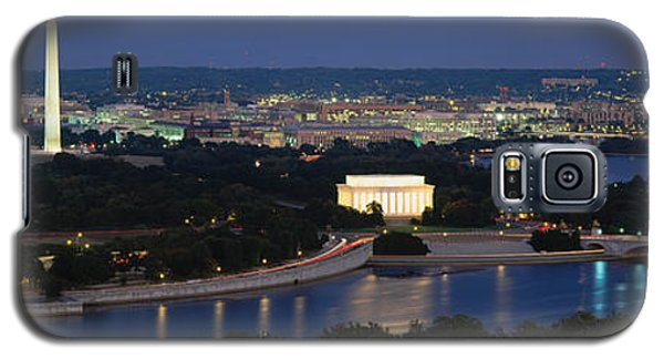 High Angle View Of A City, Washington Galaxy S5 Case