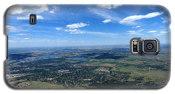 High Over Boulder Colorado Galaxy S5 Case