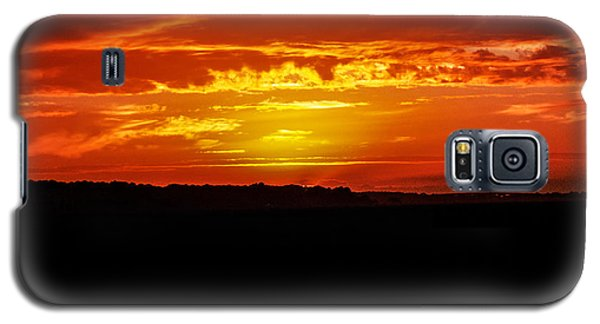 Galaxy S5 Case featuring the photograph Hilton Head Sunset  Sun 277 by G L Sarti