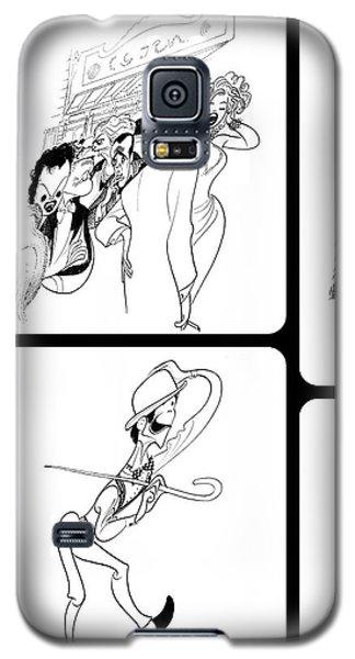 Hirschfeld's Drawings Galaxy S5 Case