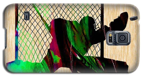 Hockey Goalie Galaxy S5 Case by Marvin Blaine