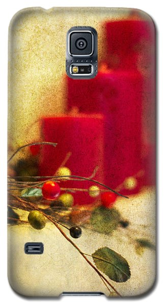 Holiday Candles Galaxy S5 Case