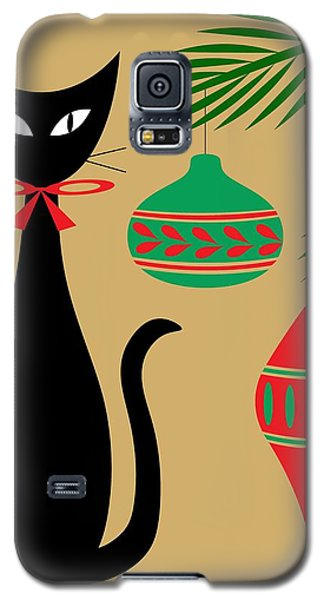 Holiday Cat Galaxy S5 Case