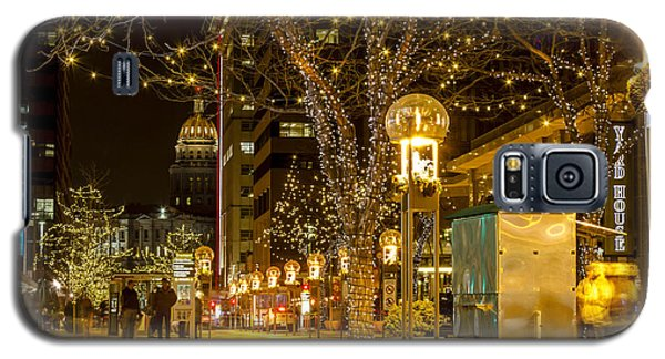 Holiday Lights In Denver Colorado Galaxy S5 Case