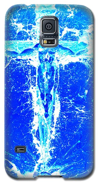 Holy Cross Unholy Sword Galaxy S5 Case