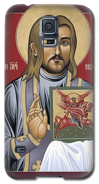 Galaxy S5 Case featuring the painting Holy New Martyr Nestor Savchuk 069 by William Hart McNichols