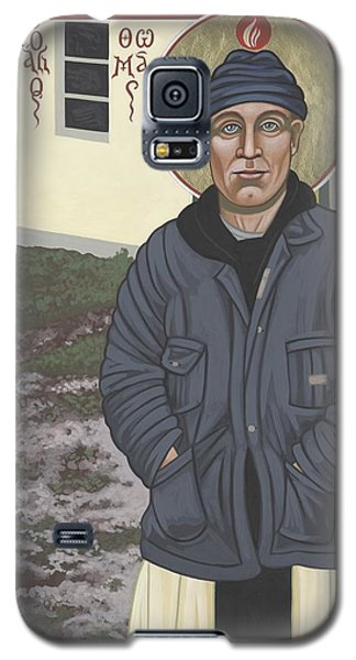 Holy World Evangelist Thomas Merton 267 Galaxy S5 Case