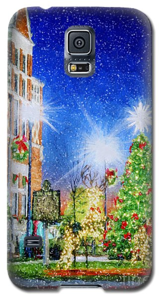 Home Town Christmas Galaxy S5 Case by Darren Fisher