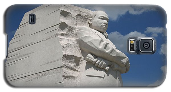 Galaxy S5 Case featuring the photograph Honoring Martin Luther King by Cora Wandel