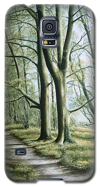 Galaxy S5 Case featuring the painting Hope by Rosemary Colyer