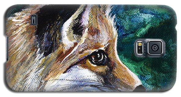 Hopeful Fox Galaxy S5 Case