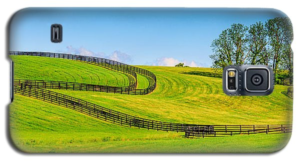 Horse Farm Fences Galaxy S5 Case