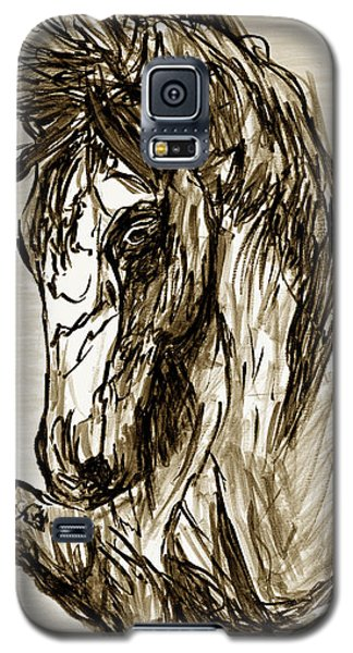 Horse Twins II Galaxy S5 Case