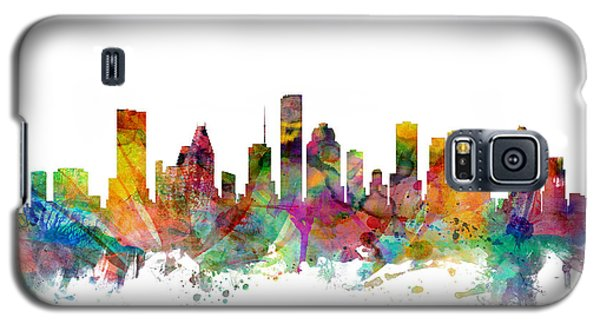 Houston Texas Skyline Galaxy S5 Case