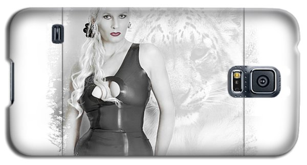 Galaxy S5 Case featuring the photograph Human And Animal by Christine Sponchia