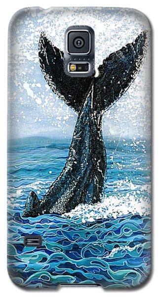 Humpback Flukes Galaxy S5 Case by Debbie Chamberlin