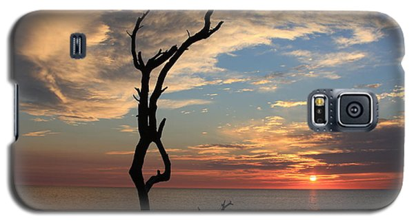 Hunting Island Sunrise Galaxy S5 Case