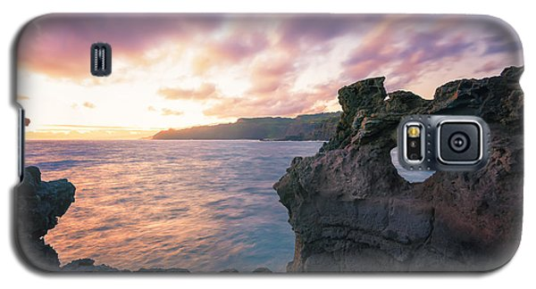 Galaxy S5 Case featuring the photograph I Heart Maui by Hawaii  Fine Art Photography