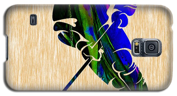 Ice Hockey Galaxy S5 Case by Marvin Blaine