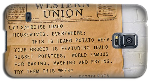 Idaho Potato Museum Galaxy S5 Case