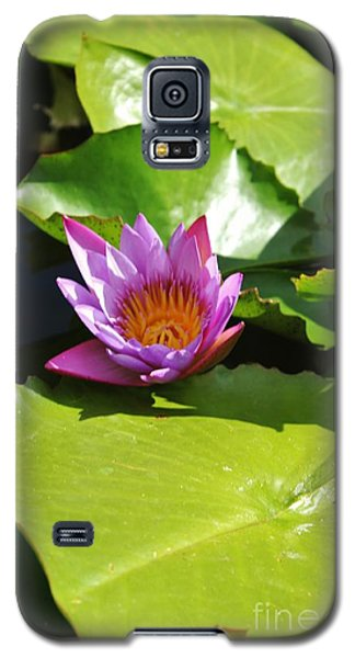 Galaxy S5 Case featuring the photograph In The Middle by Craig Wood