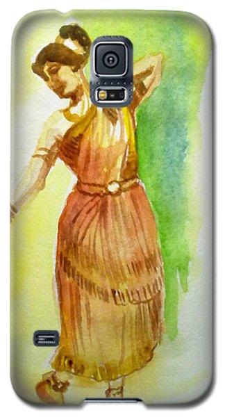 Indian Dancer Galaxy S5 Case