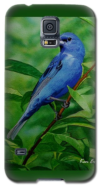 Indigo Bunting Galaxy S5 Case by Ken Everett