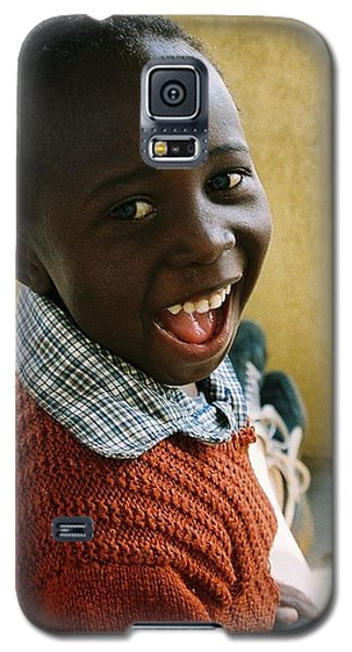 Galaxy S5 Case featuring the photograph Indomitable Happiness by Carlee Ojeda