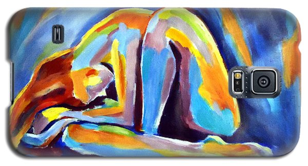 Galaxy S5 Case featuring the painting Insomnia by Helena Wierzbicki