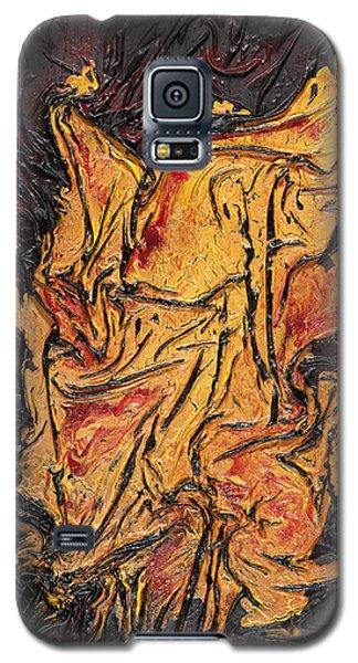 Internal Fire Galaxy S5 Case