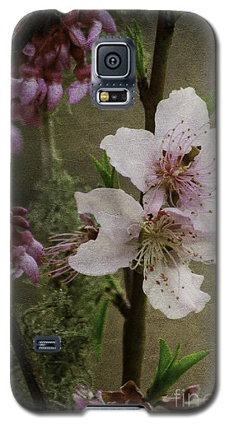 Into Spring Abstract Galaxy S5 Case by Lori Mellen-Pagliaro
