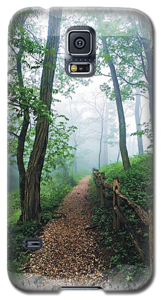 Into The Mist On The At Galaxy S5 Case