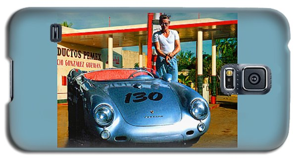 James Dean Filling His Spyder With Gas Galaxy S5 Case