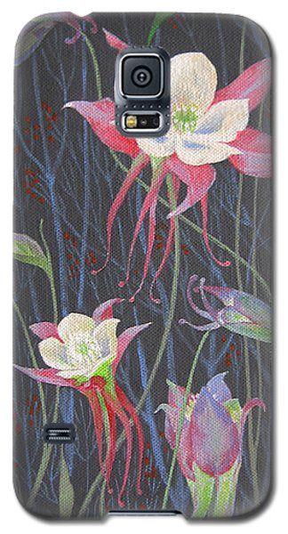 Japanese Flowers Galaxy S5 Case