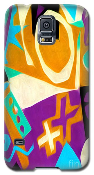 Jazz Art - 01 Galaxy S5 Case by Gregory Dyer