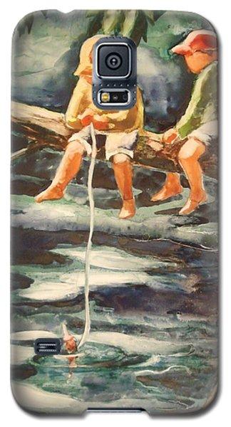Jes Fishin Galaxy S5 Case by Marilyn Jacobson